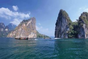 From Phuket: Khao Sok Lake Sightseeing With Kayaking