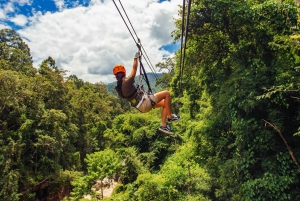 From Private Tour Phang Nga Adventure with Zipline