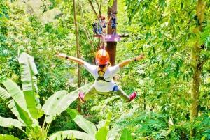 Hanuman World Half–Day Zip–line Adventure