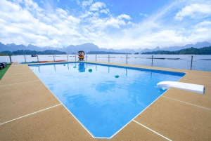 Khao Sok: Chiew Larn Lake Luxury Overnight Stay with Meals