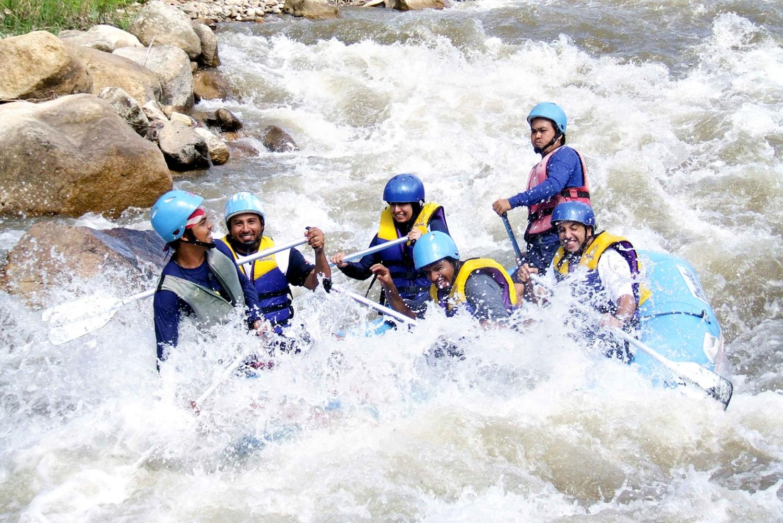 Phang Nga: White Water Rafting & Waterfall Trek