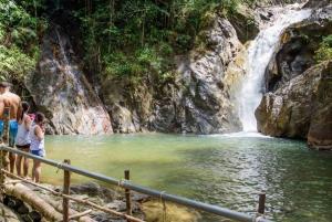 Phuket Adventure: Monkey Cave, Rafting, Zip Line & Waterfall