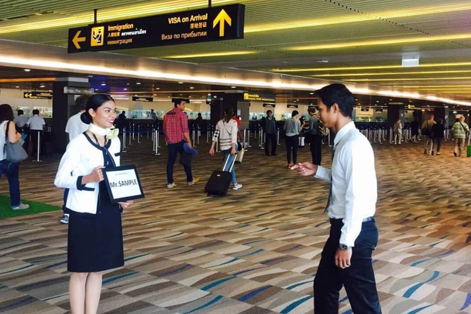 Phuket Airport: VIP Immigration Fast-Track Service & Lounge