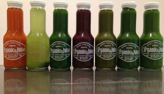 Rawkin' Fresh Organic Juices by Pura