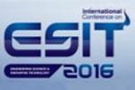 2nd International Conference on Engineering Science and Innovative Technology (ESIT2016)