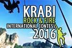 Krabi Rock and Fire International Contest 2016