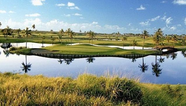 Golfing in Puerto Rico