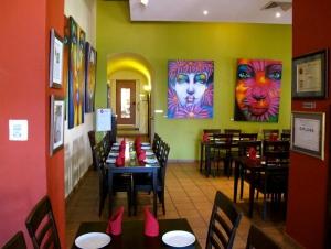 Airenumo Restaurante Dining Room