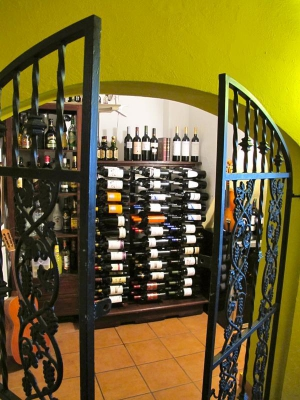 Airenumo Restaurante Wine Cellar