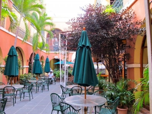 Courtyard Barrachina Old San Juan, PR
