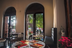 Caficultura Dining Room and Terrace