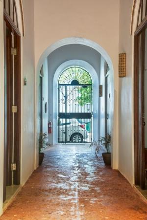 Casa Sol Entry Foyer and Hallway