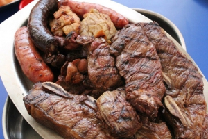 Meaty platter