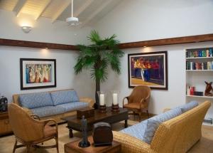 Club Seabourne Hotel Reception Area