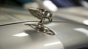 Bentley Hood Ornament