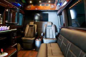 Mercedes Party Bus Interior