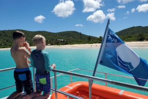 From Fajardo: Guided Snorkeling Tour of Culebra Island