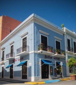 Haitian Art Gallery Old San Juan