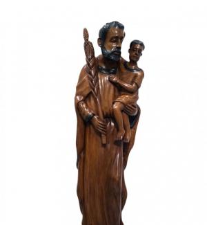 Haitian Gallery Wooden Sculpture