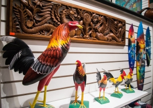 Haitian Gallery Roosters