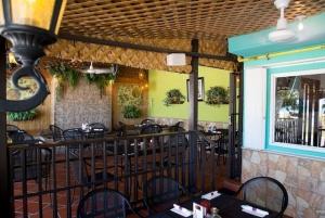 La Parrilla rear dining area