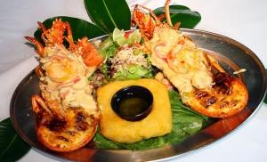 La Parrilla Grilled Lobster Tails