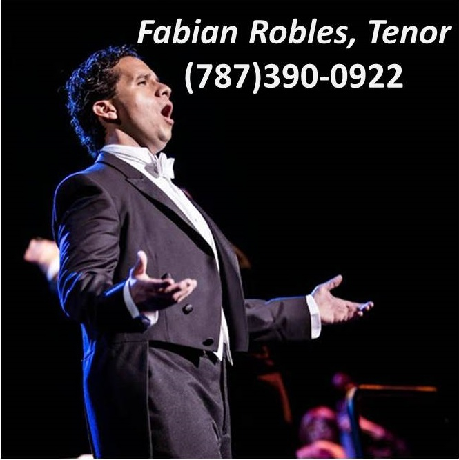 Fabian Robles, Tenor