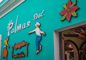 Palmas Restaurant in Old San Juan
