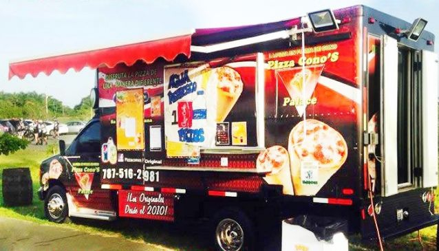 Pizza Cono's Palace Food Truck