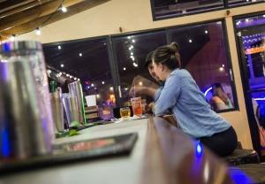 Enjoying the Bar