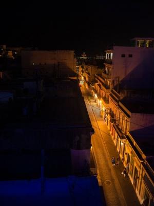 Calle Fortaleza from Punto de Vista