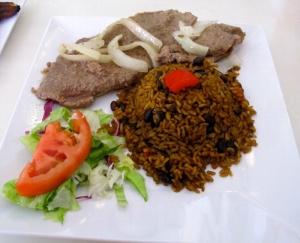 Biftec Ensebollado, El Jibarito