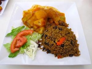 Chicken with Breadfruit Sauce, El Jibarito