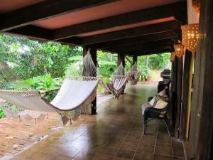 Villa Loma Sol Porch, Rio Grande