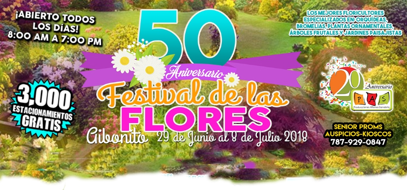 50th Annual Aibonito Flower Festival
