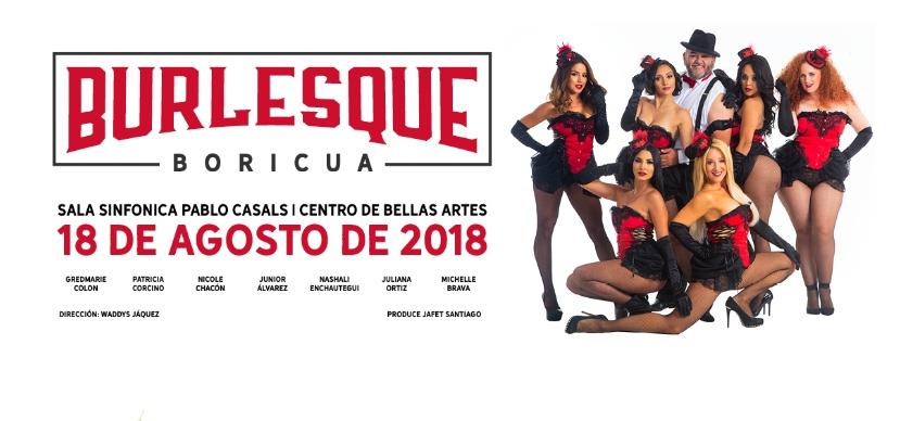 Burlesque Boricua