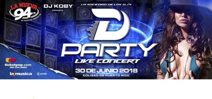 D'Party Live Concert