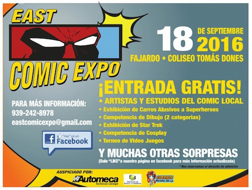 East Comic Expo