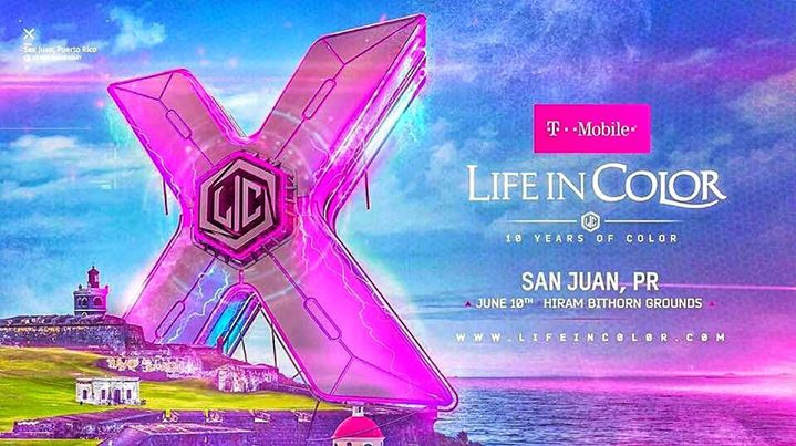 Life in Color Puerto Rico / Tickets Sale