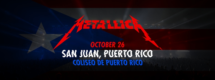 Metallica in Puerto Rico