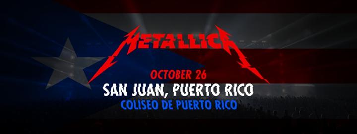 Metallica in Puerto Rico