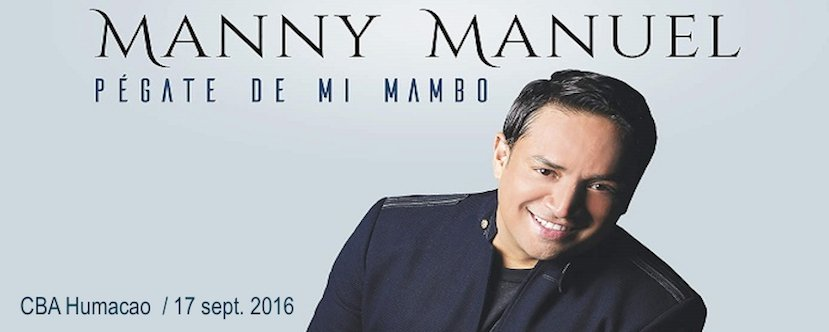 """""""Pégate de mi mambo"""" Manny Manuel"""