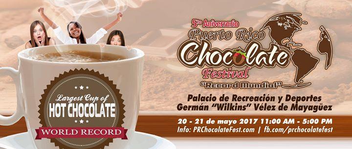 Puerto Rico Chocolate Festival: 5to Aniversario & récord mundial