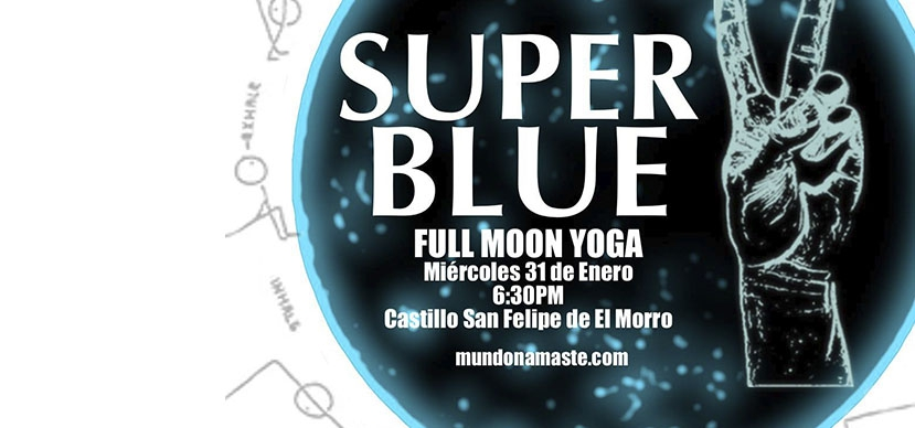 Super Blue Moon & Yoga