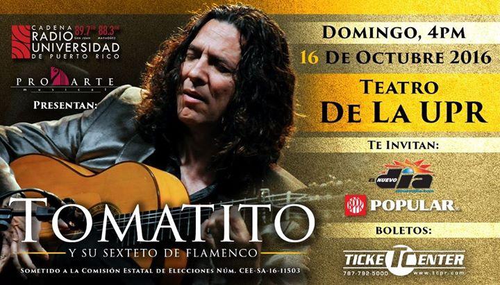 Tomatito en el Teatro de la UPR