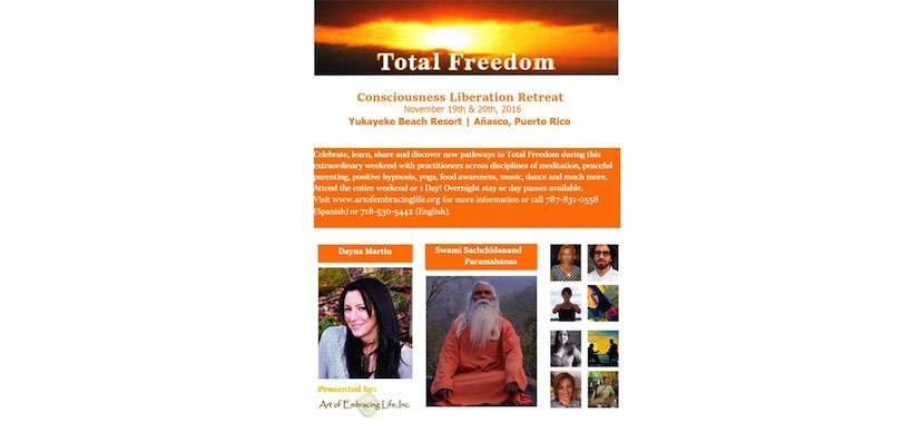 TOTAL Freedom - Consciousness Liberation Retreat