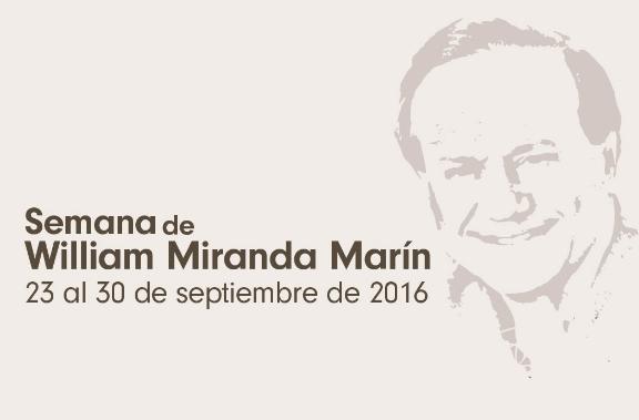 William Miranda Marín Week