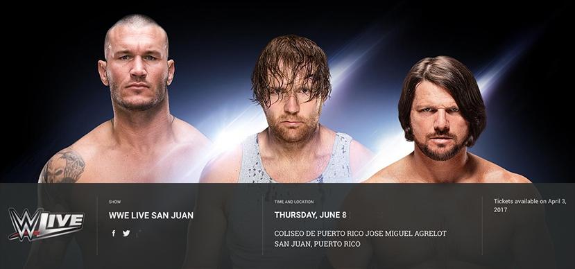 WWE Live San Juan