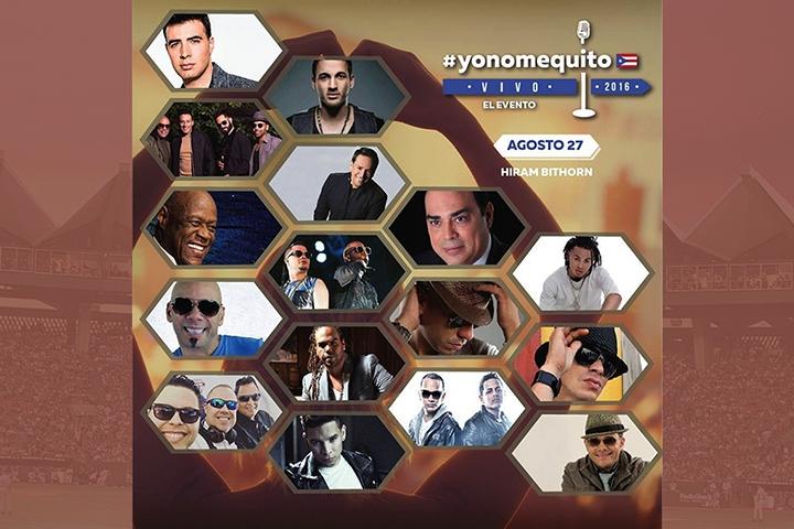 YO NO ME QUITO LIVE 2016