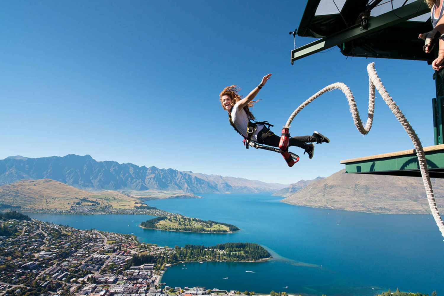 Bungy Jump from Skyline Queenstown